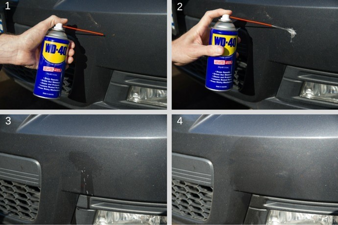 Use WD-40 To Loosen the Bugs