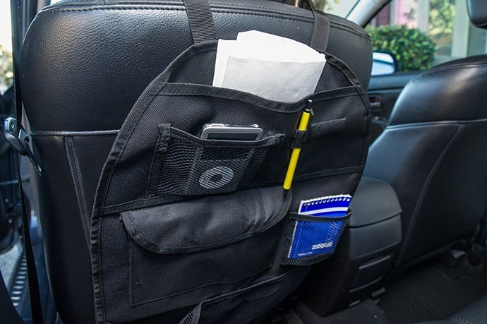 Get a Handy Backseat Organizer