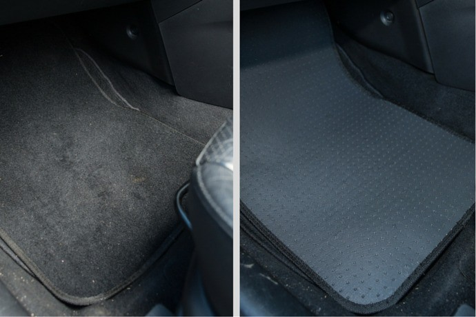 Protect Carpets with Cheap Rubber Mats