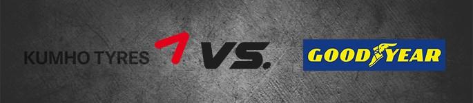 Kumho vs. goodyear