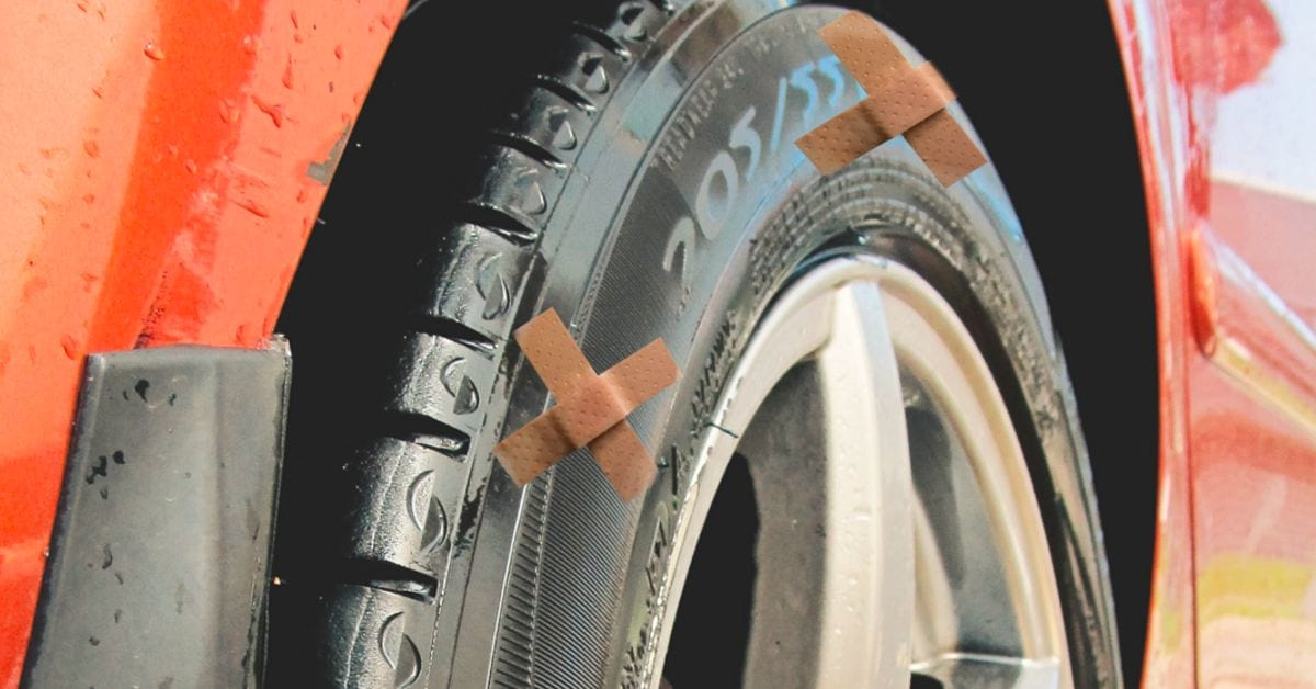 Self-repairing tyres - The tyre of the future