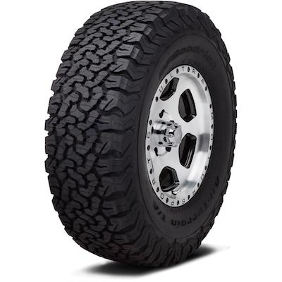 Tyre BF GOODRICH ALL TERRAIN TA KO2 M+S LRE RWL 245/75R17LT 121/118S  TL