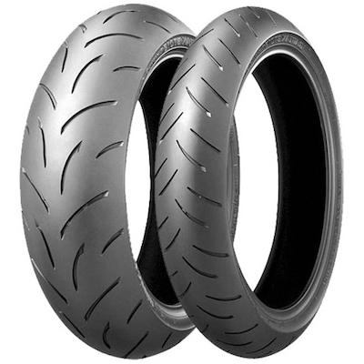 Bridgestone Bt 015 Tyres 120/70ZR17M/C (58W)