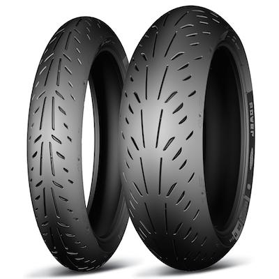 Michelin Power Supersport Evo Tyres 200/55ZR17M/C (78W)