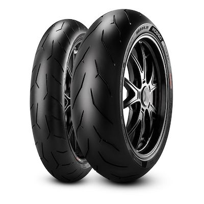Pirelli Diablo Corsa Tyres 120/70ZR17M/C 58W