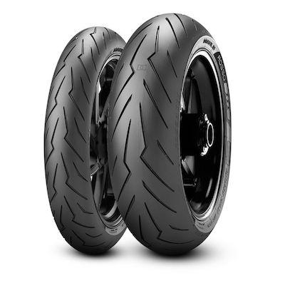 Pirelli Diablo Rosso 3 Tyres 120/60ZR17M/C (55W)