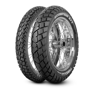 Pirelli Scorpion Mt 90 At Tyres 120/80-18M/C 62S TT